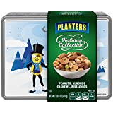 #6: Planters Holiday Collection Tin, Peanuts, Almonds, Cashews, Pistachios, 17 Ounce