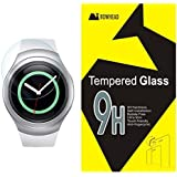 Gear S2 Screen Protector, Bowhead Samsung Gear S2 Glass Screen Protector - [Tempered Glass] 9H Hardness, Bubble Free