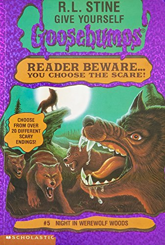 Night in Werewolf Woods by R.L. Stine