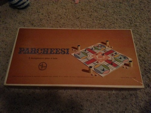 - Parcheesi 1964 Gold Seal Edition Vintage Board Game