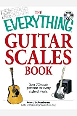 The Everything Guitar Scales Book with CD: Over 700 scale patterns for every style of music Paperback