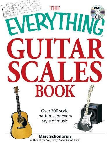 - The Everything Guitar Scales Book with CD: Over 700 scale patterns for every style of music