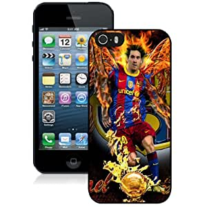 Personalized iPhone 5s Case Design with Lionel Messi Iphone 5 5s Generation Black Case