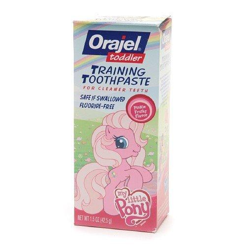 Orajel Toddler My Little Pony formation Dentifrice 1,5 onces (42,5 g)