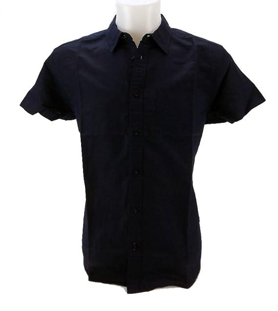 Wrangler SS 1pkt Shirt, Camisa para Hombre, Azul (Navy O35), Small: Amazon.es: Ropa y accesorios