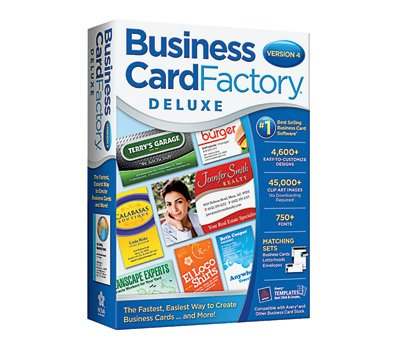 nova development 40933 business card factory deluxe 4