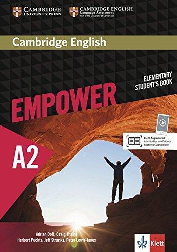 Cambridge English Empower A2: Student's Book