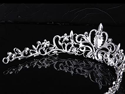 Wedding Bridal/Bridesmaid Floral Rhinestone Tiara Crown 11.42