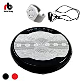 Rocket Bunny Crazy Fit Massage Vibration Power Plate Machine with New Remote Exercise Watch, 2...