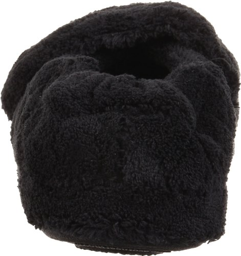 Acorn Womens Spa Wrap Slipper Zwart