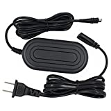 CA-110 FlyHi CA-110 AC Adapter Charger for Canon VIXIA HF M50, M52, M500, R20, R21, R30, R32, R40, R42, R50, R52, R60, R62, R200, R300, R400, R500, R600, LEGRIA HF R206, R26, R28 …
