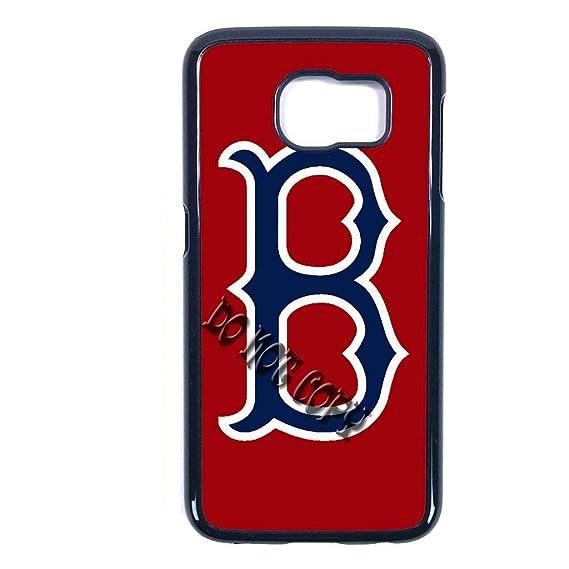 Amazon 10 Kinds Red Sox Boston Samsung Galaxy S7 Edge Case