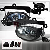 OEM Style Fog Lights Honda Civic 2006 2007 2008 Coupe - Clear by Spec-D Tuning