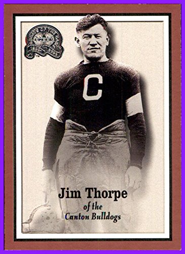 2000 Greats of the Game GOTG by Fleer/Skybox #81 Jim Thorpe CANTON BULLDOGS Ohio