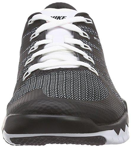 Nike Free Trainer 5.0 V6, Zapatillas de Deporte Interior para Hombre, Negro/Blanco (Black/White-Bright Crimson), 40 EU