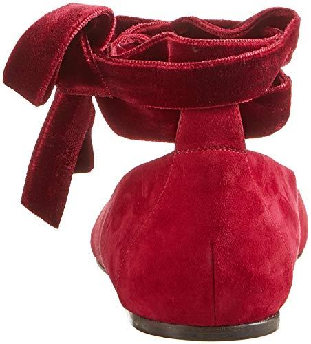 BENNETT Fermé Bout Escarpins 625 Maddy Femme Poppy LK Rouge wzqB7gBI