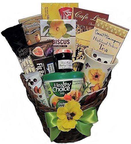 Sending Sunshine Soup, Tea & Cookie Basket (Sending Gifts)