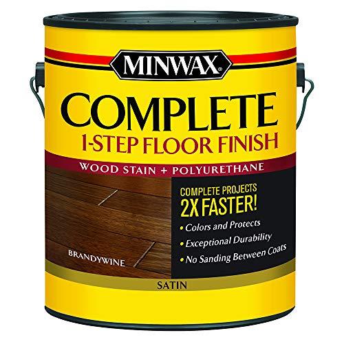 Minwax 672070000 Complete 1 Step Floor Finish, 1 Gallon, Brandywine
