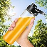 Best Blender Bottle Hiking Water Bottles - Drinking Water Bottle, MengK Tritan Bottle with Air-Tight Review