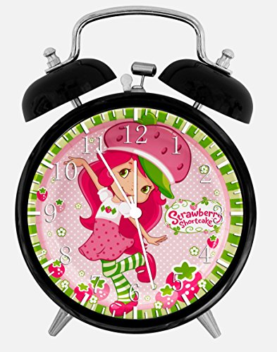 Strawberry Shortcake Alarm Desk Clock 3.75