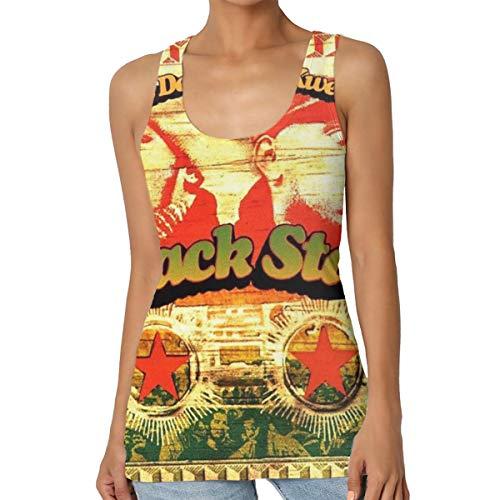 HuiXieJian Talib Kweli Mos Def & Talib Kweli are Black Star Women's Gym Waistcoat Tank Top Shirts L