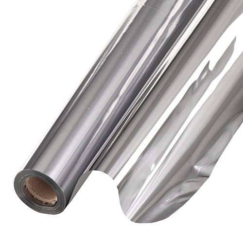 Metallic Background 48 Inches Silver 75 Feet Roll Photo Booth Background Backdrop Party Decoration Scene Setter