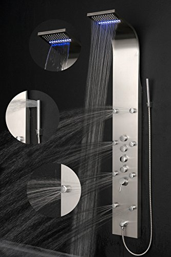 AKDY Rainfall Waterfall Stainless Multi Function