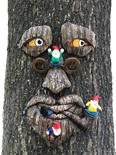 By Mark & Margot - Tree Face Garden