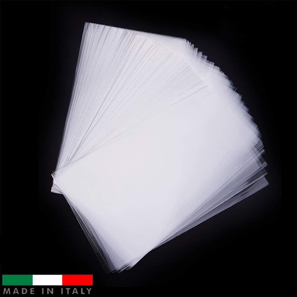 rect/ángulo 600 pzas en celof/án Palucart 25x15cm Bolsas de celof/án Transparentes Bolsas para joyer/ía Galletas Pasteler/ía