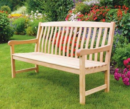 5 Feet Grade-A Teak Wood Outdoor Patio Bench -DVBench Review