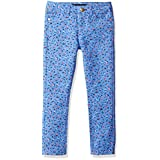 Tommy Hilfiger Big Girls' Printed Twinkle Length Pant, Mild Periwinkle, 12