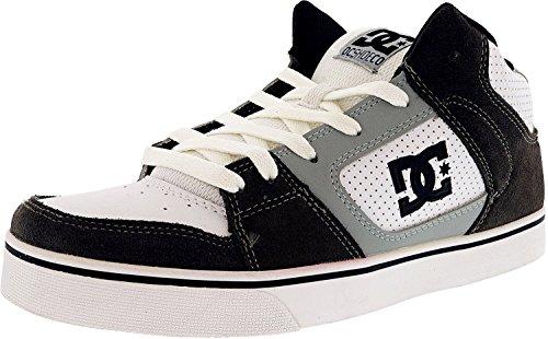 DC Mens Patrol Low Top Lace Up Skateboarding Shoes, Battleship/White, Size 9.0