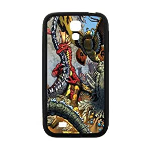 Happy Magical dragon and monster Cell Phone Case for Samsung Galaxy S4