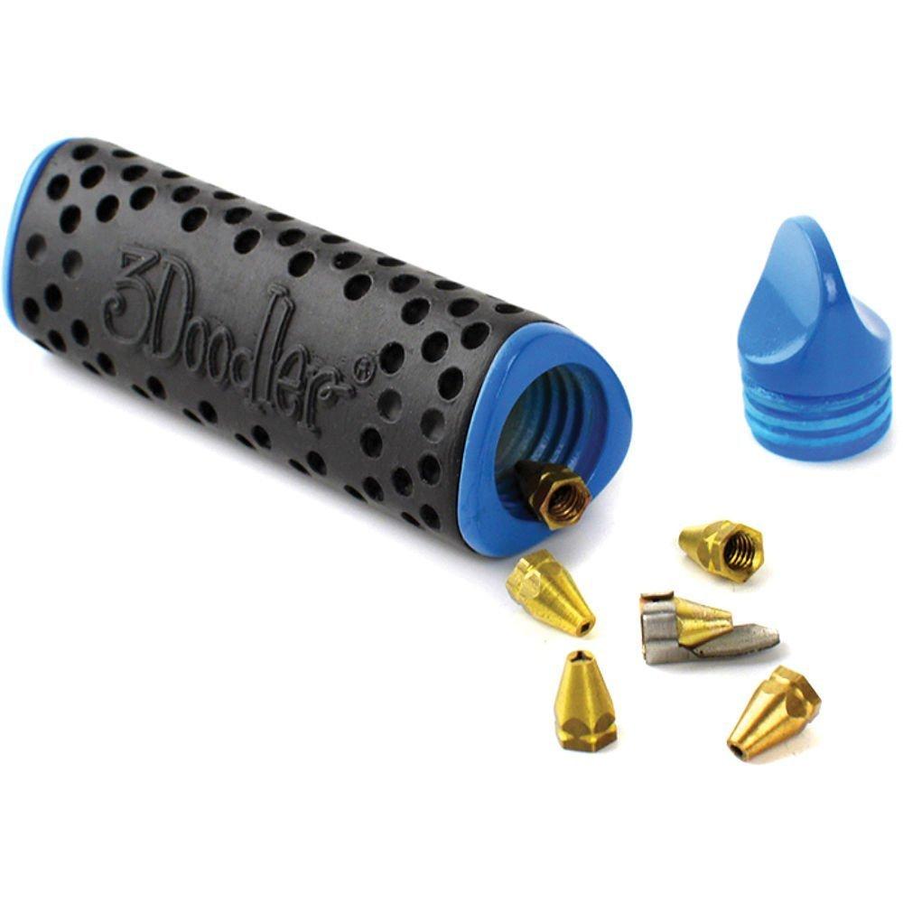 3doodler 2.0 Four Piece Bundle: 3doodler 2.0 3d Printing Pen + 75 Strands of 3doodler Plastic Filament + 3doodler 2.0 Doodlestand + 3doodler 2.0 Nozzle Set!