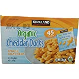 Kirkland signature Organic Cheddar Ducks (45 X 28g), 1.26 kg