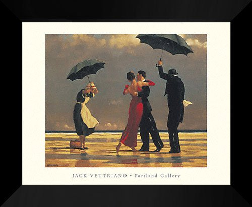 - Jack Vettriano Framed Art Print 24x20