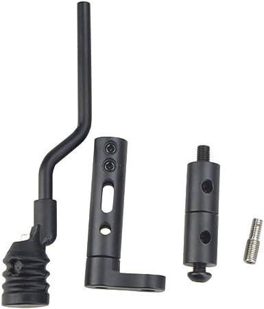SHARROW Tir /à larc Stabilisateur de Corde darc String Stop Vibration Amortisseur Silencieux pour Arc /à Poulies