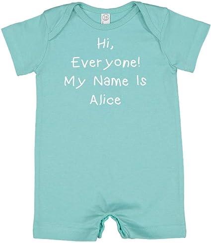 World Mashed Clothing Hello Im Niamh Personalized Name Toddler//Kids Sweatshirt