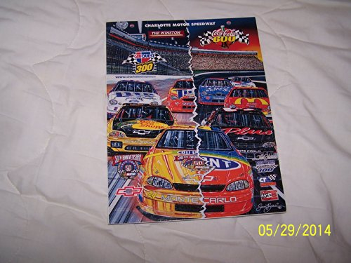 Charlotte Motor Speedway Collector's Edition Magazine May 1998 Coca-Cola 600 NASCAR