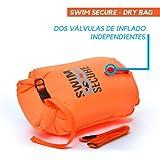 Swim Secure Boya de natación Aguas Abiertas 28L Talla M (NATACIÓN y Triatlon) DISTRIBUIDORES