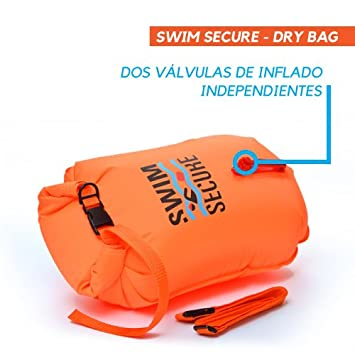 7e1e218fbf45 Swim Secure Boya de natación Aguas Abiertas 28L Talla M (NATACIÓN y  Triatlon) DISTRIBUIDORES Oficiales EN ESPAÑA