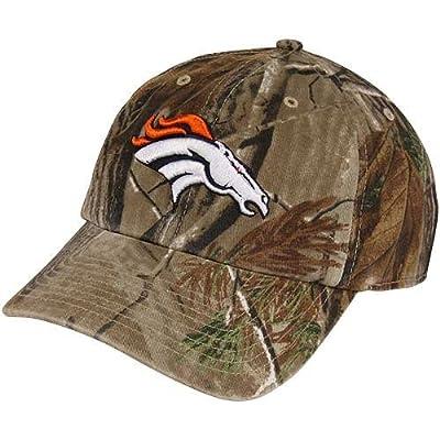 Men's '47 Brand Denver Broncos Realtree? Clean Up Slouch Adjustable Hat Adjustable by '47 Brand