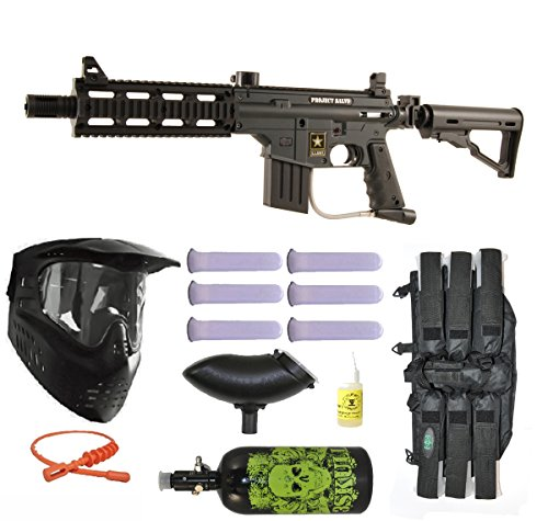 (Tippmann US Army Project Salvo Paintball Marker HPA N2 Advance Package)