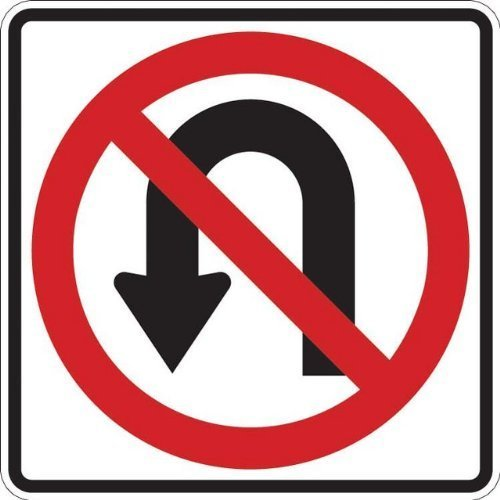 (Tapco R3-4 High Intensity Prismatic Square Standard Traffic Sign, Legend