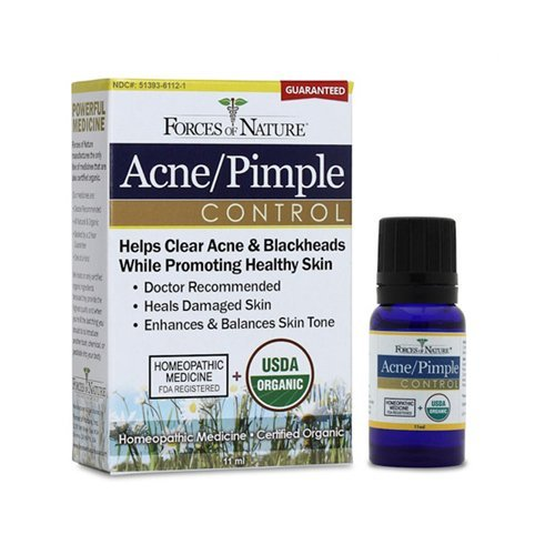 Acne Pimple Control - 11 ml - Liquid ( Multi-Pack) by Forces Of Nature