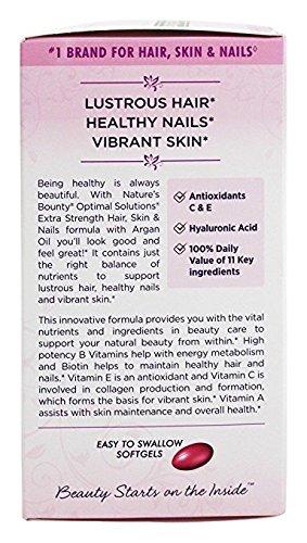 Amazon.com : Vitaminas Para Fortalecer El Cabello, Las Uñas Débiles y Mejoran La Calidad De Su Piel - 150 Capsulas 100% Garantizado : Beauty