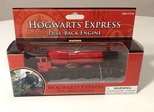 (Wizarding World of Harry Potter : Hogwarts Express Pull Back Engine Toy Train )