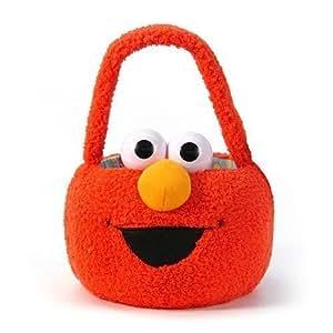 Sesame Street ELMO Plush Easter Egg Basket