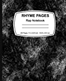 Rhyme Pages: Rap Notebook: Rap Notebook 200 page