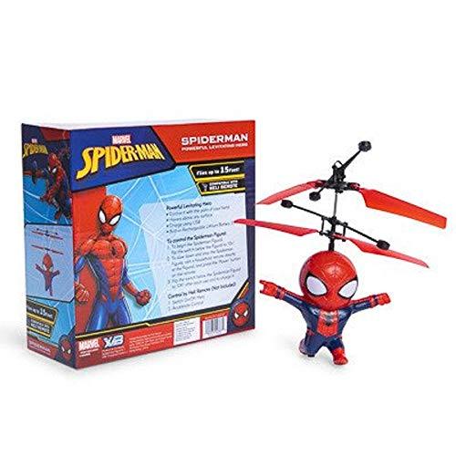 Marvel Avengers Heliball Flying Helicopter Powerful Levitation Sphere (Spiderman(Body))